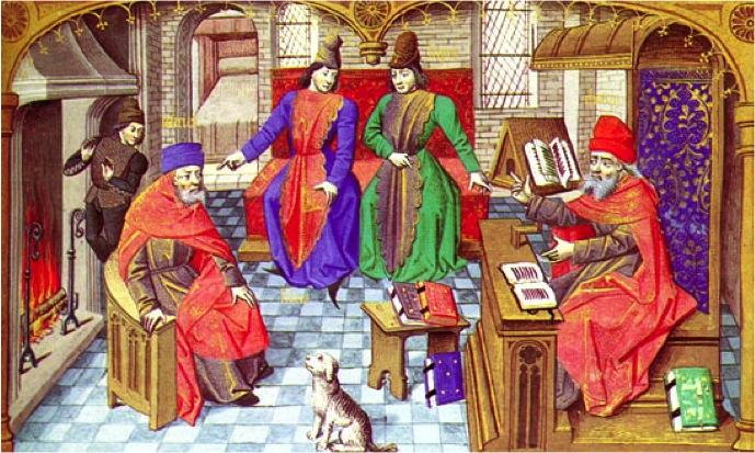medieval-school