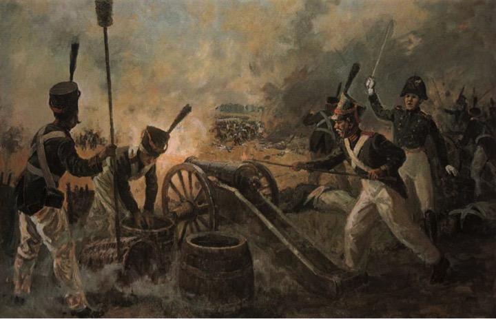 cannon-fire
